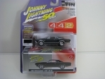 Oldsmobile 442 W-30 1967 Ebony Black with Storage Tin 1:64 Johny Lightning
